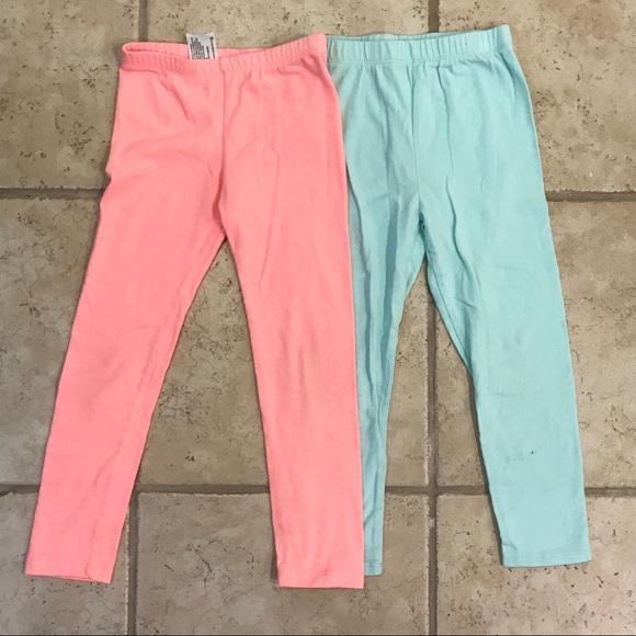 Carter's Other - {{bundlex2}} unisex 5T pink blue summer leggings